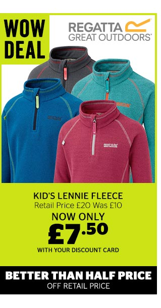 Regatta Kid's Lennie Fleece