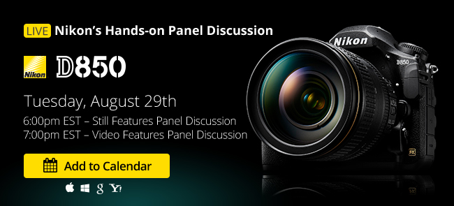 Nikon D850 Hands-on Panel Discussion