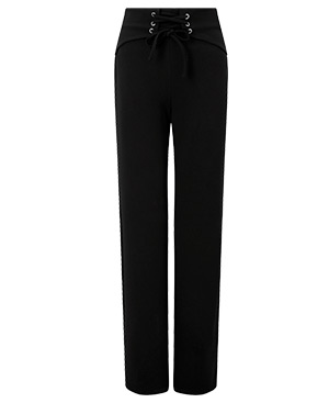 LIPSY LACE UP HIGH WAISTED TROUSERS