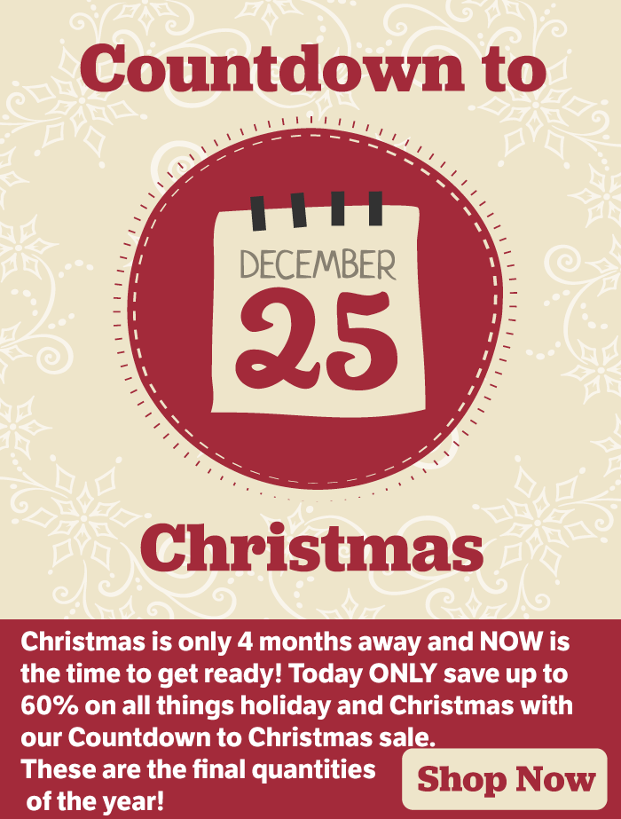 4 Things For Christmas.Temp Tations 4 Months Until Christmas Save Up To 60 On
