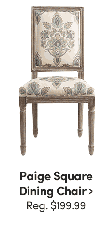 Paige Square Chair ›