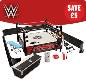 WWE Ringside Battle Playset with Kevin Owens Figure