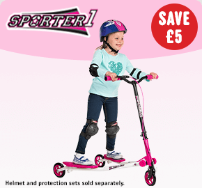 Sporter 1 Scooter Pink