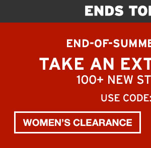 END-OF-SEASON CLEARANCE | SHOP WOMEN'S CLEARANCE