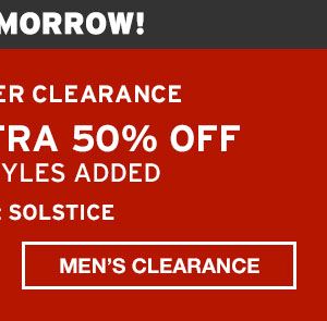 END-OF-SEASON CLEARANCE | SHOP MEN'S CLEARANCE