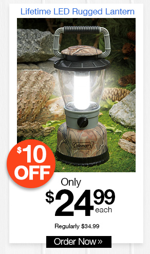 Lifetime LED Rugged Lantern