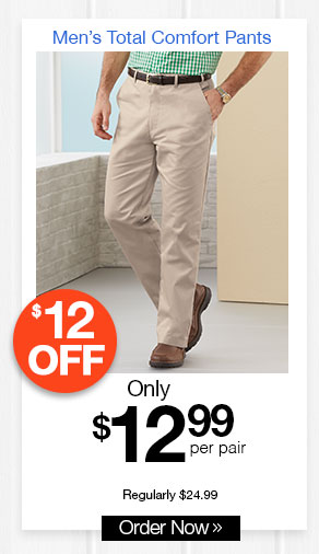 Men's Total Comfort Pants