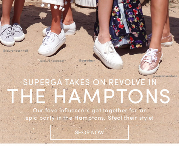 SUPERGA IN THE HAMPTONS