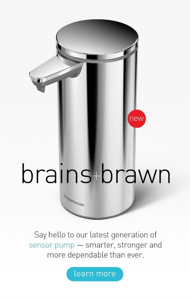brains + brawn