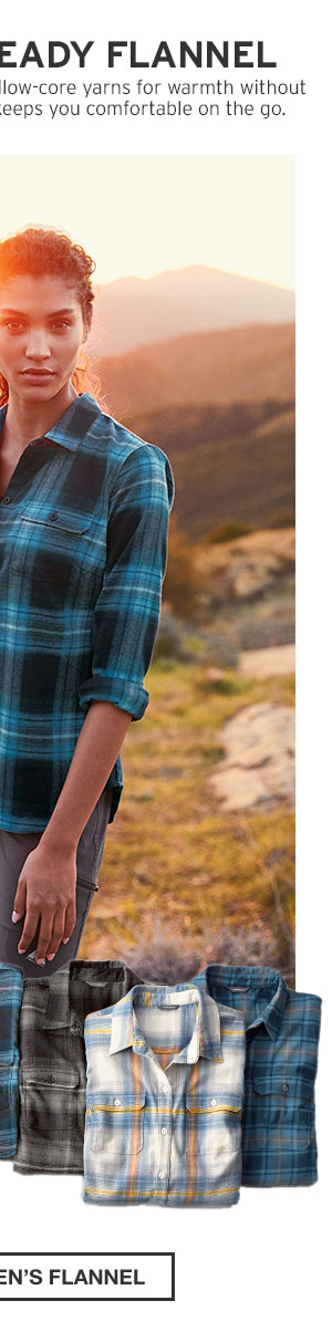ADVENTURE-READY FLANNEL | SHOP WOMEN'S FLANNEL