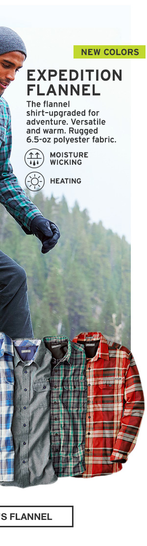 ADVENTURE-READY FLANNEL | SHOP MEN'S FLANNEL