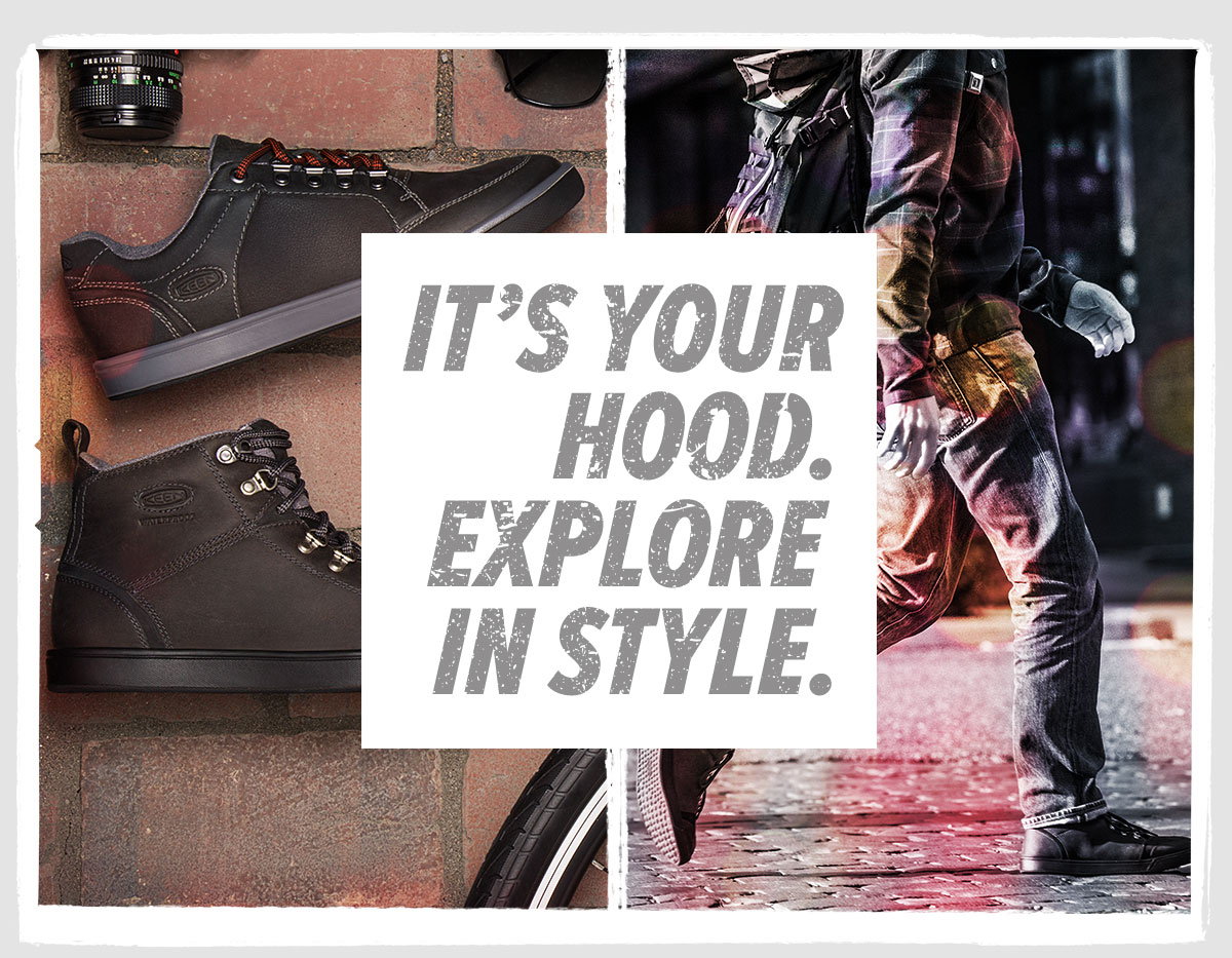 Its your hood. Explore in style.