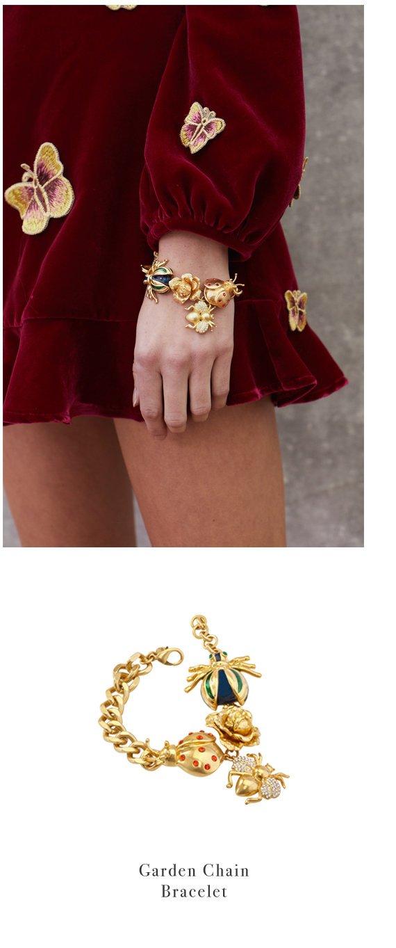 Garden Chain Bracelet