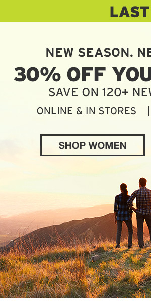30% OFF YOUR PURCHASE | SHOP WOMEN