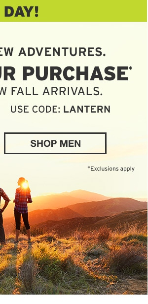 30% OFF YOUR PURCHASE | SHOP MEN