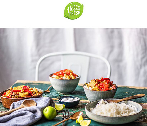 Hellofresh Chicken Curry In A Hurry Milled