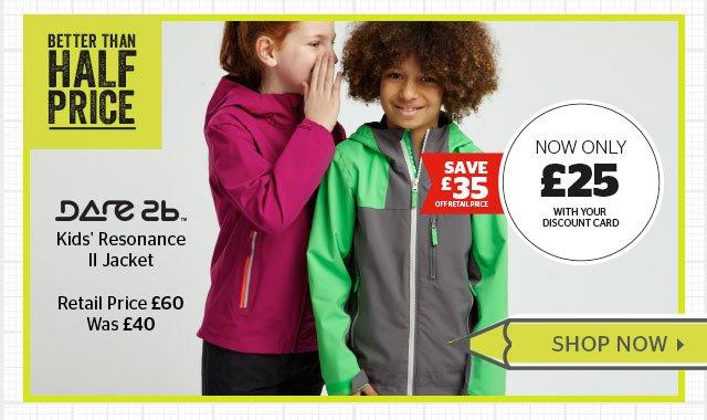 Dare2b Kids' Resonance II Jacket