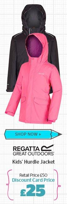 Regatta Kids' Hurdle Jacket