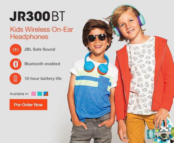 Jbl Introducing The Jbl Jr300 Series Headphones For Kids Milled