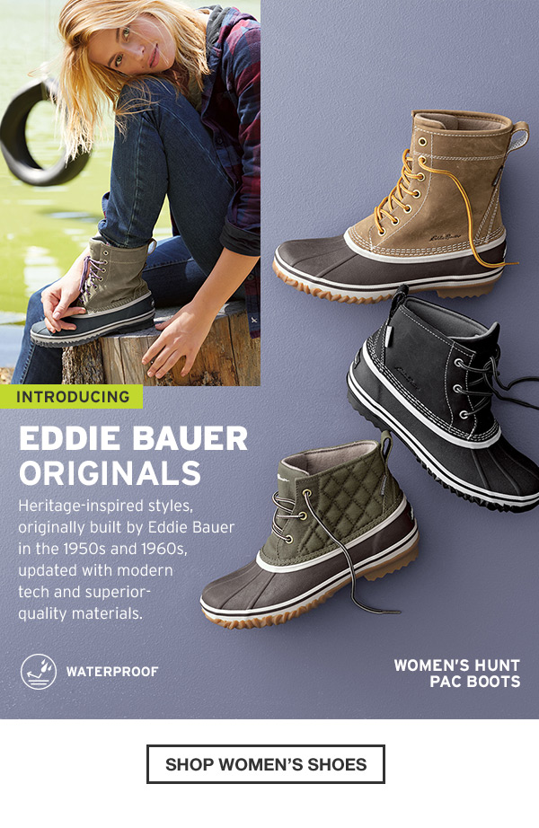 EDDIE BAUER ORIGINALS | SHOP WOMEN'S SHOES