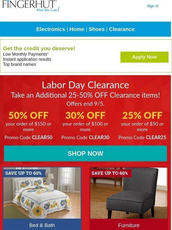 fingerhut fingerhut save up to 50 on clearance items milled. Black Bedroom Furniture Sets. Home Design Ideas