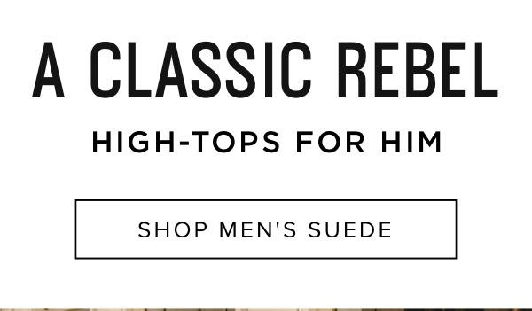 High-tops for him: Shop men's suede
