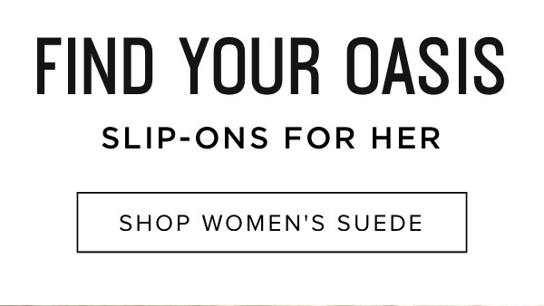 Slip-ons for her: Shop women's suede