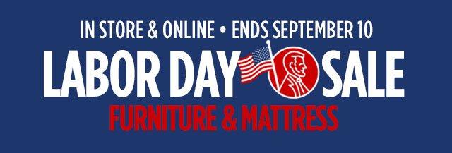 Labor Day Sale Furniture Mattress