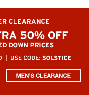 TAKE AN EXTRA 50% OFF| SHOP MEN'S CLEARANCE