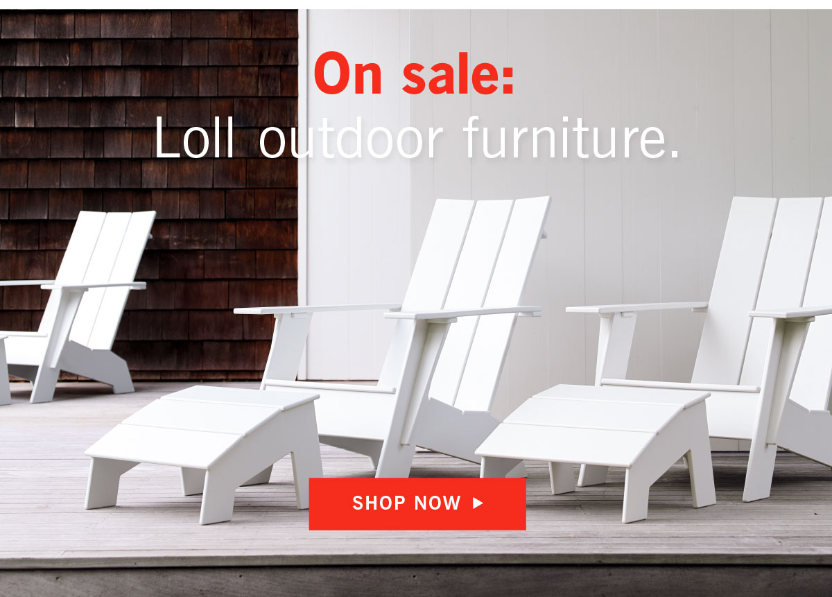 On Sale: Loll outdoor furniture
