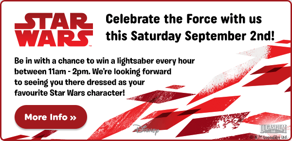 Star Wars in-store event