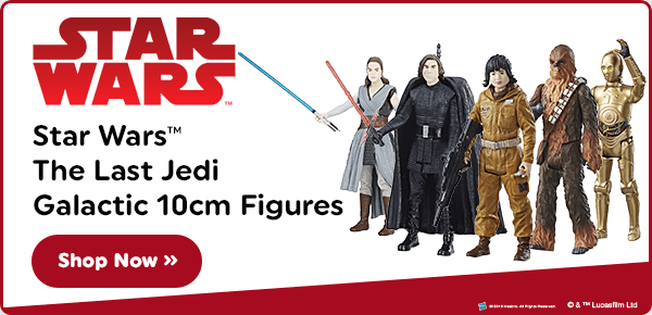 Star Wars The Last Jedi Galactic 10cm Figures