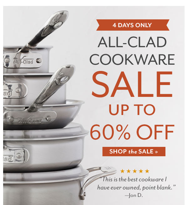 allclad cookware sale up to 60 off