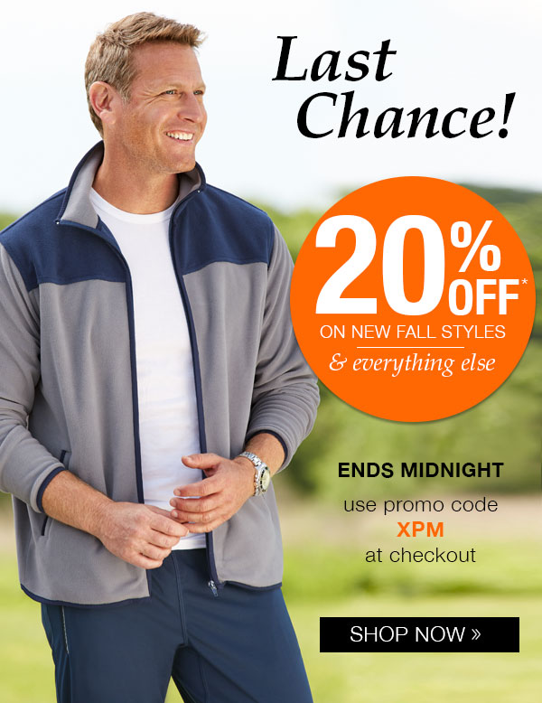 20% OFF on every order!
