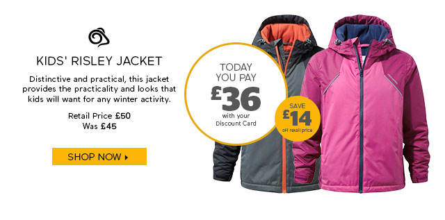 Craghoppers Kids' Risley Jacket