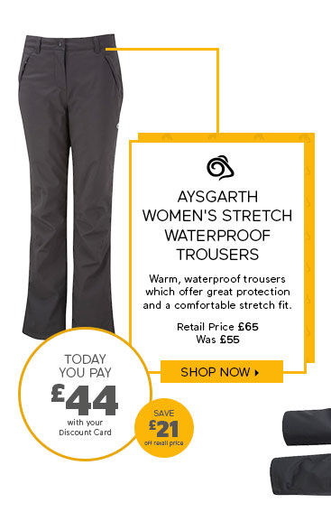 Craghoppers Aysgarth Women's Stretch Waterproof Trousers