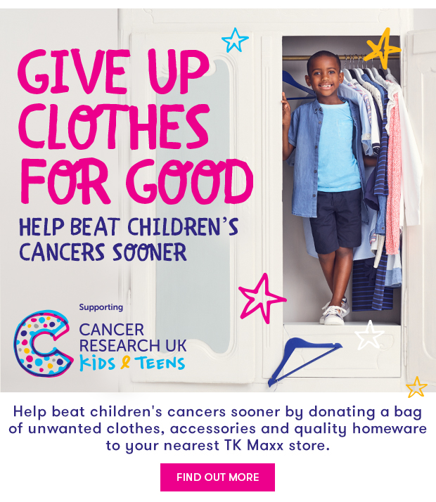 203d2b948 TK Maxx  GIVE UP CLOTHES FOR GOOD