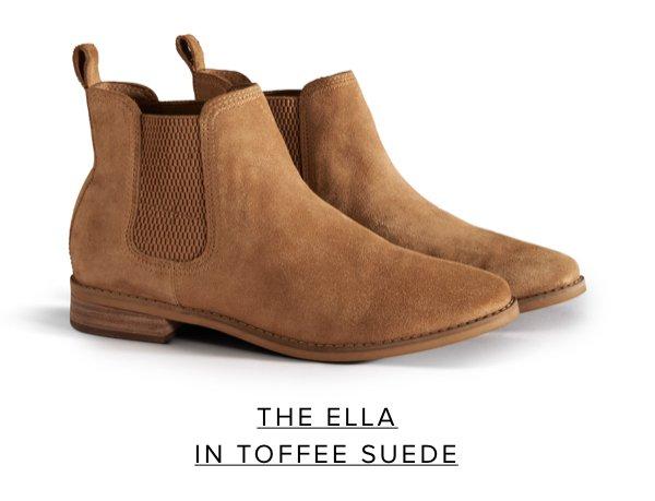 The Ella in Toffee Suede