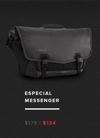Especial Messenger – was $179 now $134