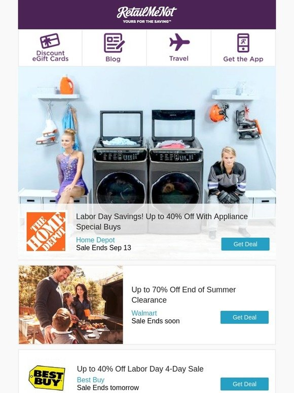 Retailmenot Up To 70 Off Clearance At Walmart 10 Off 25 At