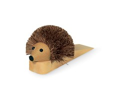 Shoe Cleaning Hedgehog Doorstop