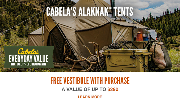 Cabela's Ultimate Alaknak Tents