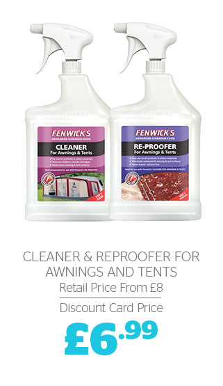 Cleaner & Reproofer for Awnings & tents
