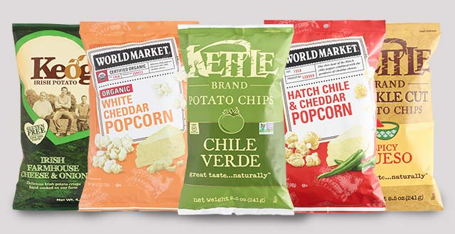 Last Chance! Ends Today, 9/4 Save 40% All Chips & Popcorn. Shop Now ›