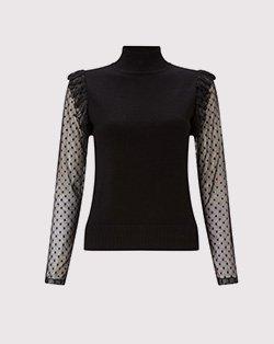 Lipsy lace insert blouse