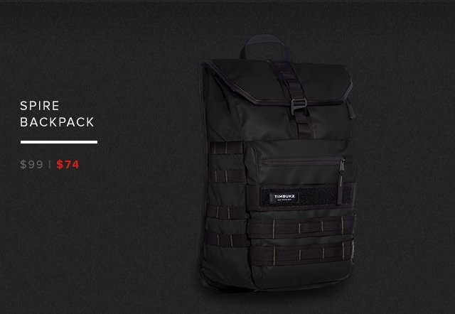 Spire Backpack — was $99 now $59