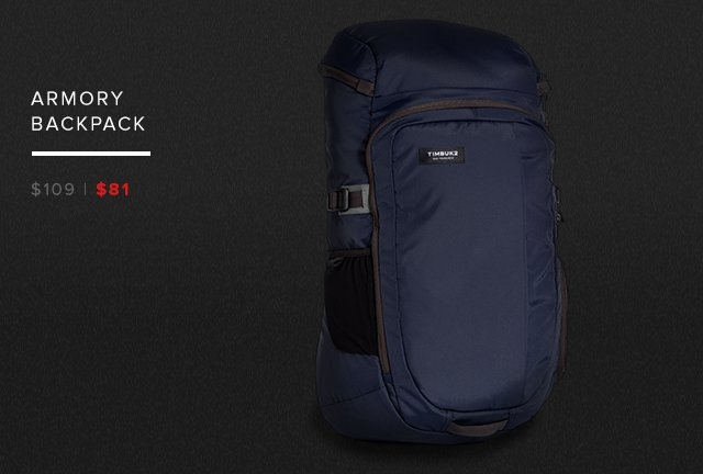 Armory Backpack – was $109 now $81