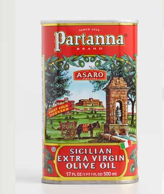 Partanna Extra Virgin Olive Oil ›