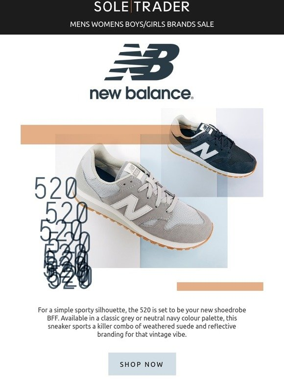 c75f31e1a Soletrader Outlet: Need a New Balance kicks fix? | Milled