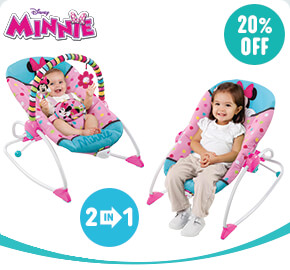 Disney Minnie Mouse Peek-A-Boo Baby Rocker